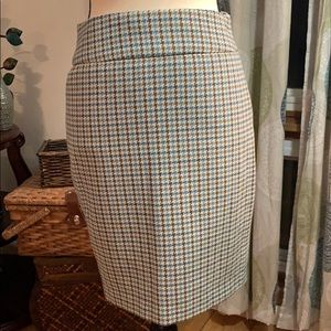 Retro 70's The Limited pencil skirt